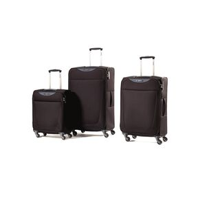 Samsonite Base Hits 3 Piece Set in the color Black.
