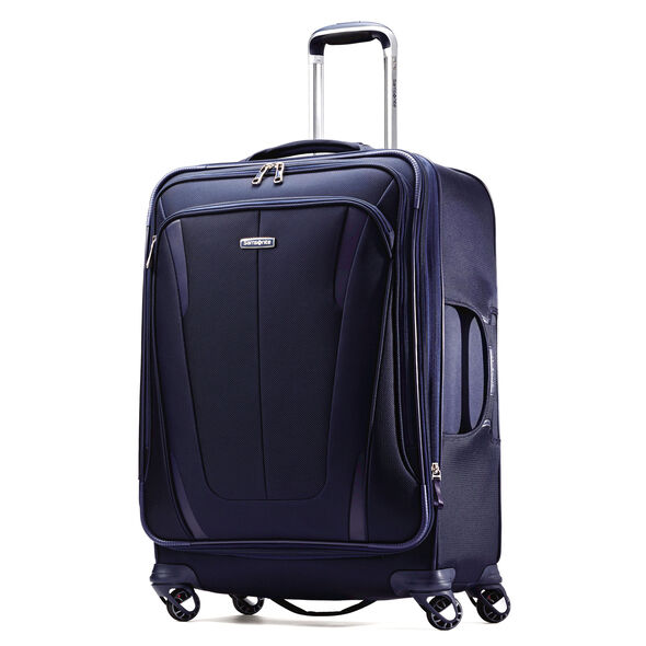 "Samsonite Silhouette Sphere 2 25"" Spinner in the color Twilight Blue."