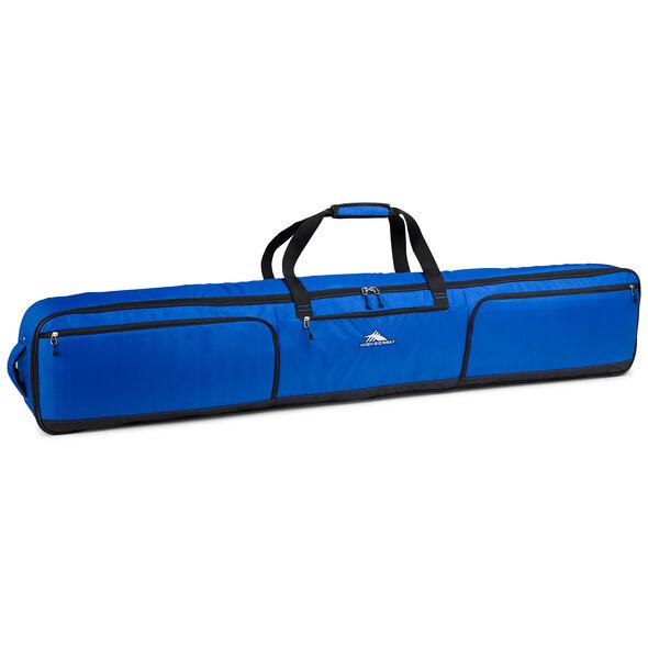 High Sierra Wheeled Double Ski/Snowboard Bag in the color Vivid Blue/Black.