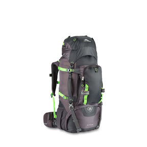 High Sierra Titan 55 Frame Pack in the color Mercury/Lime.