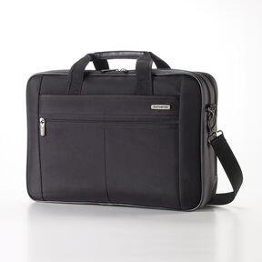Samsonite Classic 2 2 Gusset Briefcase in the color Black.