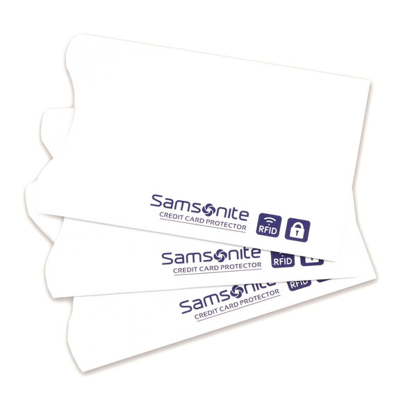 RFID Credit Card Sleeves (3 pack) in the color White.