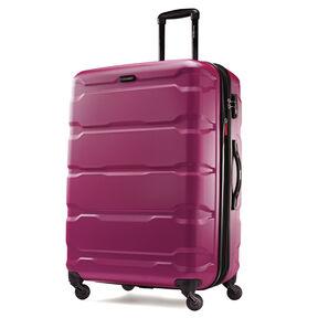 "Samsonite Omni PC 28"" Spinner in the color Radiant Pink."