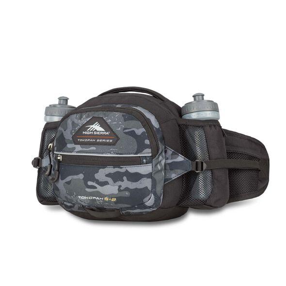High Sierra Tokopah 5L + 2 Waistpack in the color Camo/Black.