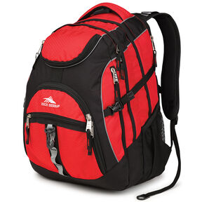 High Sierra Access Backpack in the color Crimson/Black.