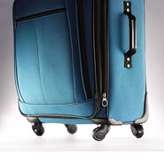 American Tourister Pop Plus 3 Piece Set in the color Moroccan Blue.