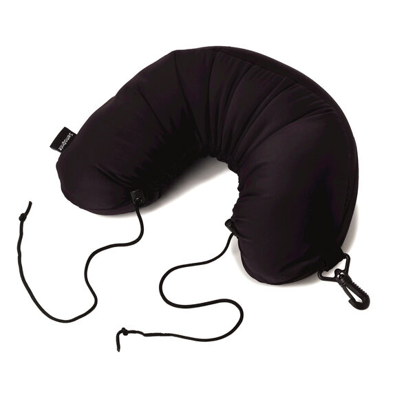 Samsonite Micro Bead Neck Pillow in the color Black.