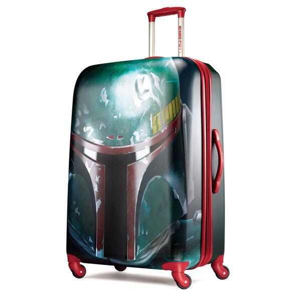 "American Tourister Star Wars 28"" Spinner in the color Boba Fett."