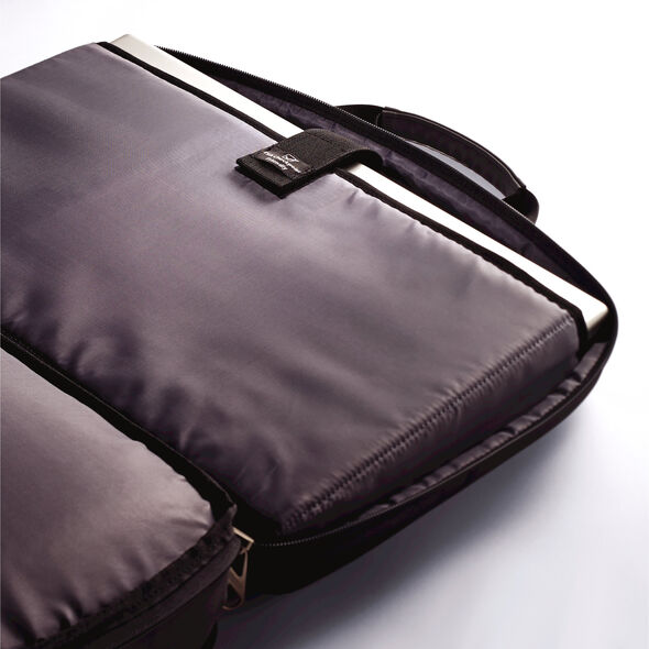 American Tourister Two Gusset Checkpoint Friendly Brief in the color Black.