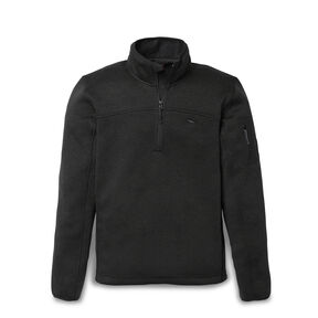 High Sierra Men's Funston 1/4 Zip Pullover in the color Black.