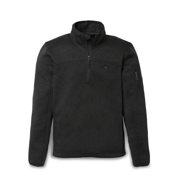 High Sierra Men's Funston 1/4 Zip Pullover in the color Black.
