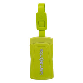 Samsonite Security ID Luggage Tag ( Set of 2) in the color Neon Green.