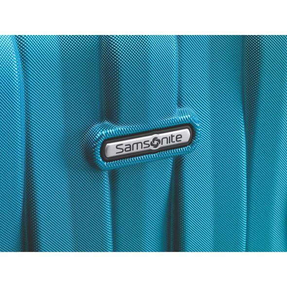 Samsonite Prestige 3D Spinner Medium in the color Turquoise.