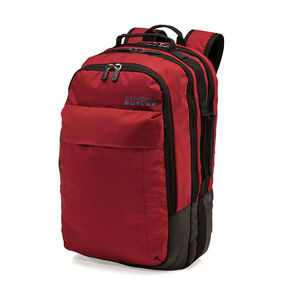Samsonite Outlab Switchback Backpack in the color Brick Red.
