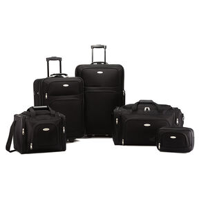 Samsonite Nobscot 5 Piece Set in the color Black.