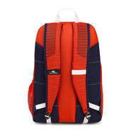 High Sierra Blaise Backpack in the color Crimson/True Navy/ White.