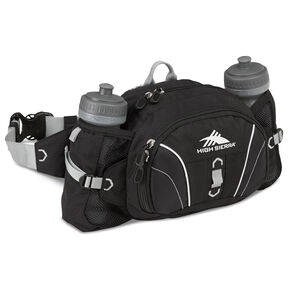 High Sierra Classic 2 Series Express Waistpack in the color Black/Silver.