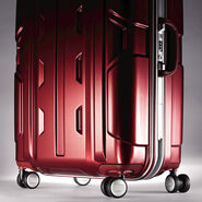 "Samsonite Cruisair DLX 26"" Spinner in the color Burgundy."