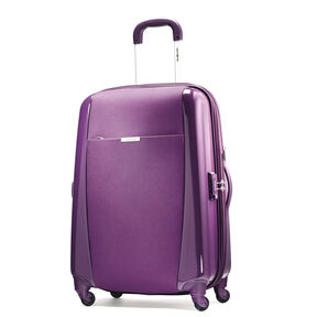 "Samsonite Sahora Brights 28"" Spinner Luggage in the color Purple."