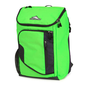 High Sierra Poblano Backpack in the color Lime/Mercury.