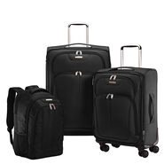 Samsonite Versa-Lite 360 3 Piece Nested Set in the color Black.