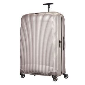 "Samsonite Black Label Cosmolite 3.0 33"" Spinner in the color Pearl."