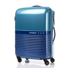 "Samsonite Red Robo 24"" Spinner in the color Blue/Light Blue."