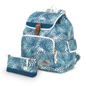 High Sierra Elly Backpack in the color Palms/Lagoon/White.