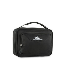 High Sierra Lunch Packs Single Compartment in the color Black.