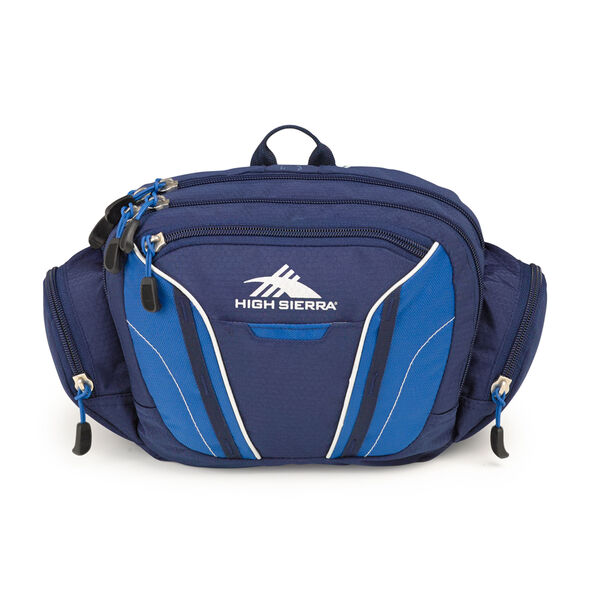 High Sierra Classic 2 Series Envoy Waistpack in the color True Navy/Royal.