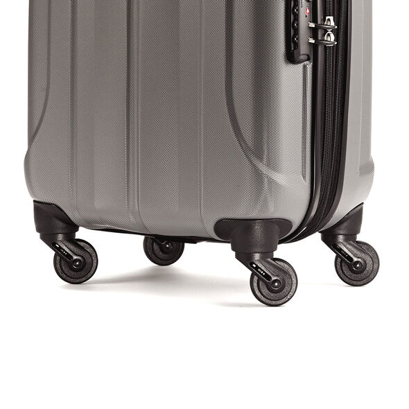 "Samsonite Fiero 20"" Spinner in the color Charcoal."