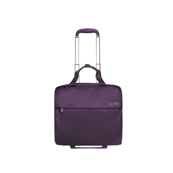Lipault Plume Business Wheeled Business Case in the color Purple.