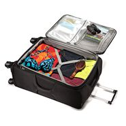 """American Tourister XLT 21"""" Spinner in the color Black."""