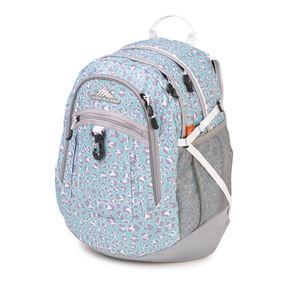 High Sierra Fat Boy Backpack in the color Mint Leopard.