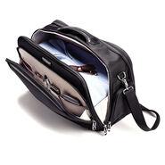 Samsonite Silhouette Sphere Weekender Boarding Bag in the color Full Black.
