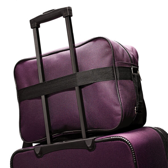 American Tourister Fieldbrook II 3 Piece Set in the color Purple/Grey.
