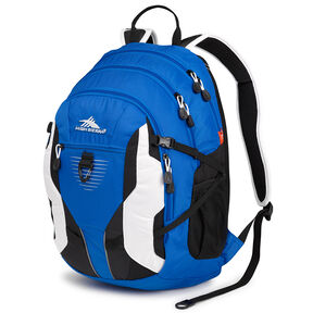High Sierra Aggro Backpack in the color Vivid Blue/Black/White.