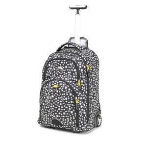 High Sierra Freewheel Wheeled Backpack in the color Daisy.
