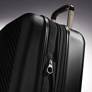 """American Tourister JX5 20"""" Spinner in the color Black."""
