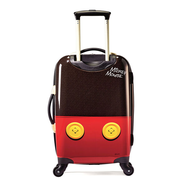 "American Tourister Disney Mickey Mouse 21"" Hardside Spinner in the color Mickey Mouse Pants."