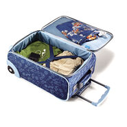 """American Tourister Disney 18"""" Softside Upright in the color Olaf."""