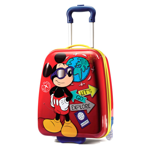 "American Tourister Disney 16"" Hardside Upright in the color Mickey Mouse."