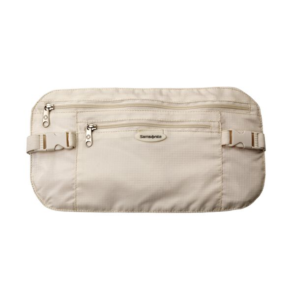 Samsonite Security Waist Belt in the color Cream.