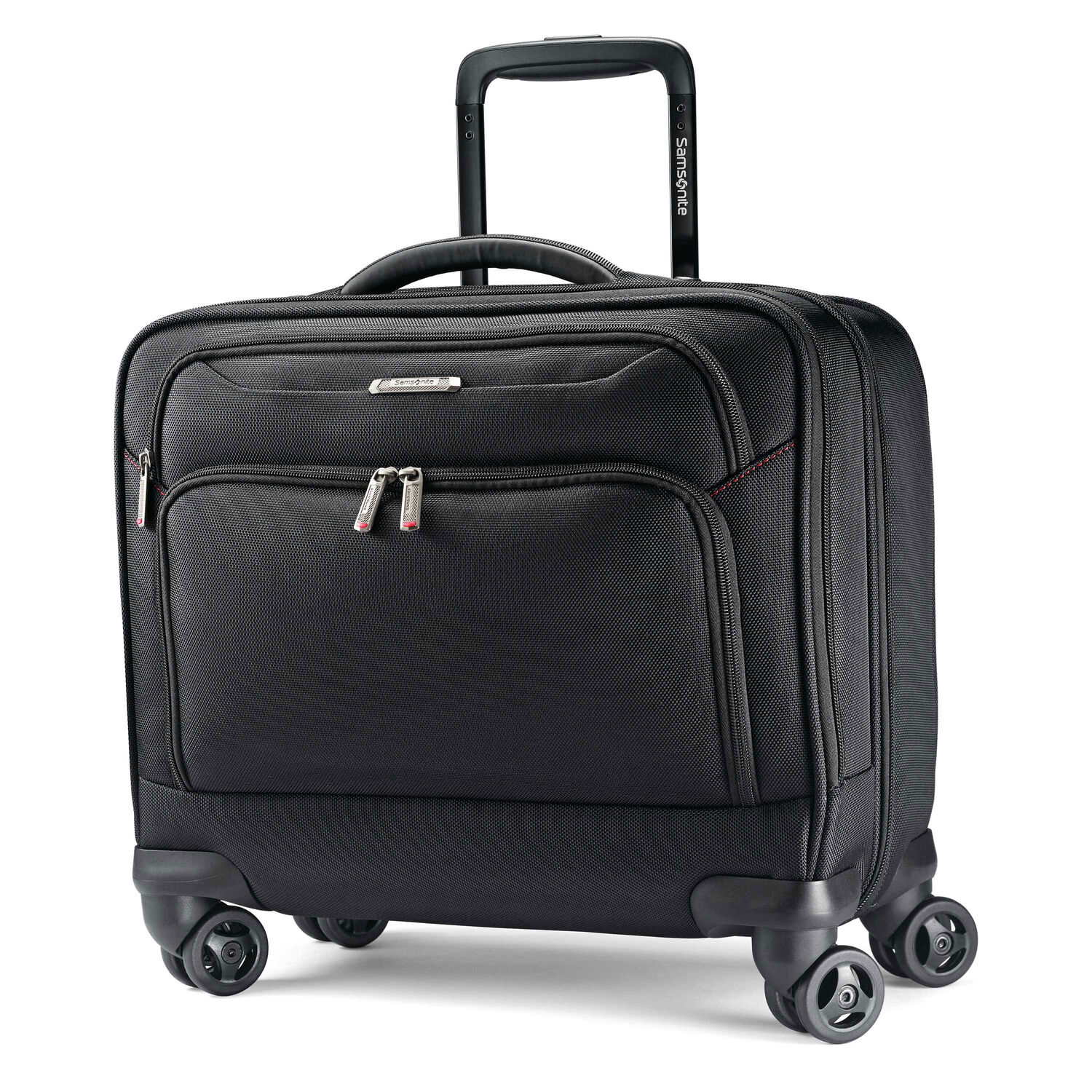 Canvas tote bags on wheels - Samsonite Xenon 3 0 Spinner Mobile Office In The Color Black
