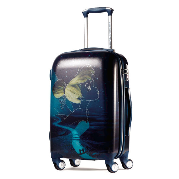 """American Tourister Disney Tinker Bell 21"""" Spinner in the color Tinkerbell."""