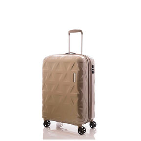 "Samsonite Novus 20"" Spinner in the color Latte."