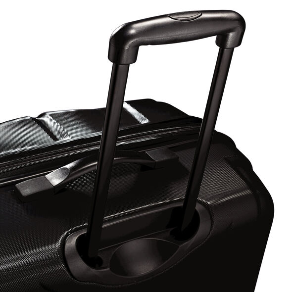 "Samsonite Fiero 24"" Spinner in the color Black."