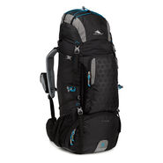High Sierra Tech 2 Series Titan 65 Frame Pack in the color Black/Charcoal/Pool.