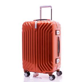 "Samsonite Tru-Frame Collection 25"" Spinner in the color Flame Orange."