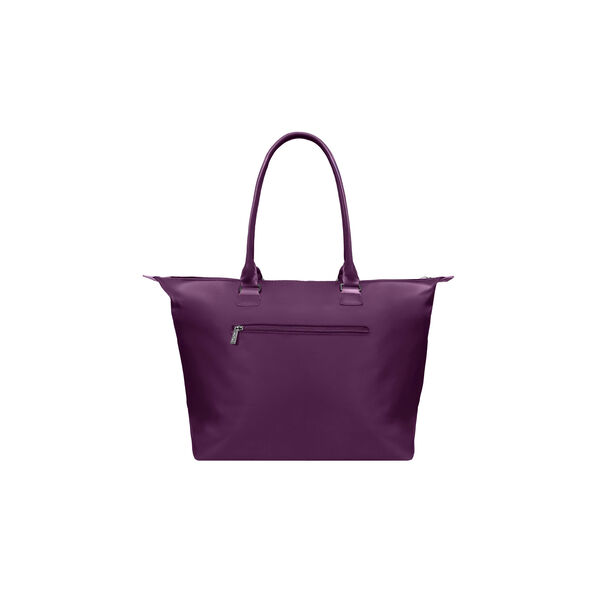 Lipault Lady Plume Shopping Tote (L) in the color Purple.